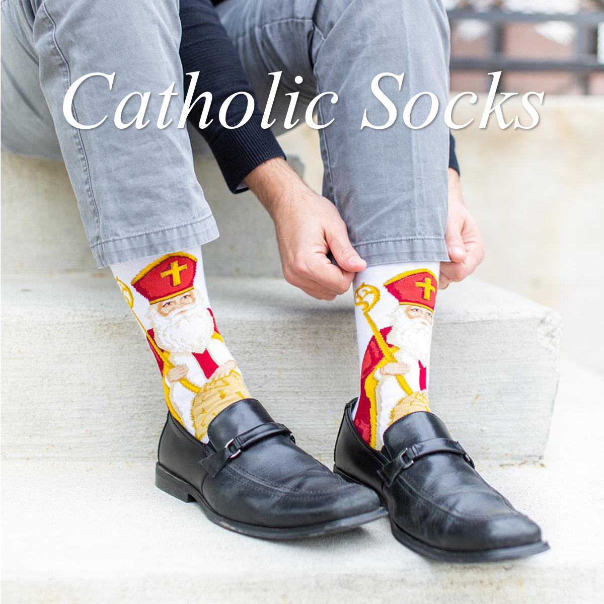 Catholic Socks
