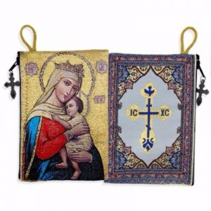 Virgin of Hope Tapestry Pouch