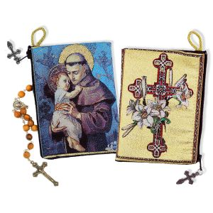St. Anthony Rosary Icon Pouch