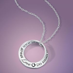 Do Small Things Sterling Mobius Necklace