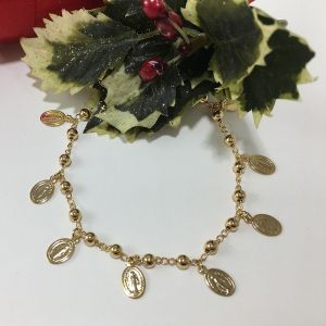 Our Lady Gold Plated Bracelet