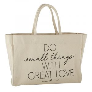 'Do Small Things' Tote Bag