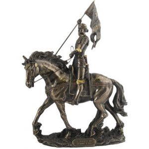 Bronze St. Joan of Arc 10""