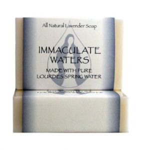 ACM163 Lourdes Water Bar Soap- Lavender