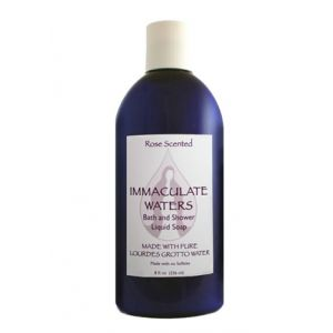 ACM182 Lourdes Water Liquid Soap- Rose