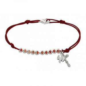 Red Holy Spirit Heart Bracelet