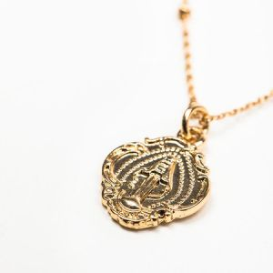 Petite Miraculous Gold Necklace