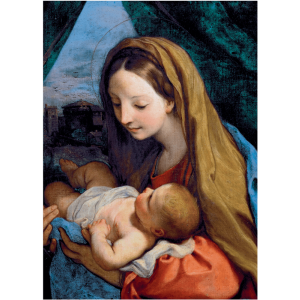 Virgin and Child by Maratta Christmas Cards