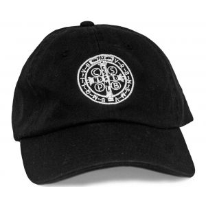 Benedictine Medal Hat