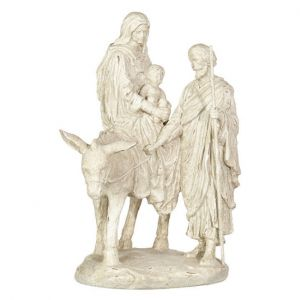 Flight Into Egypt White 14""