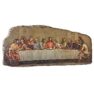 ACM145 Last Supper Plaque 18""