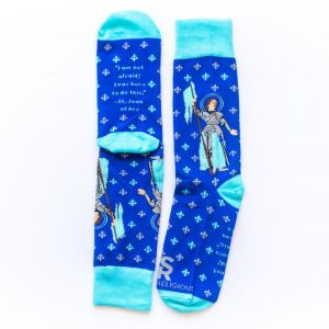 Saint Joan of Arc Socks