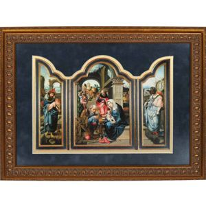 Adoration of the Magi Triptych
