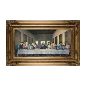 DaVinci Last Supper Canvas 12x24