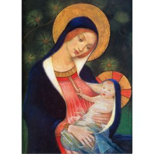 Madonna and Child by Stokes Christmas Cards
