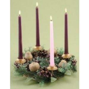 Berry Advent Wreath