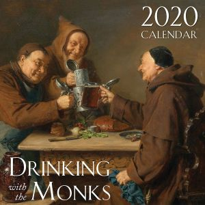 2020 Drinking with the Monks Wall Calendar