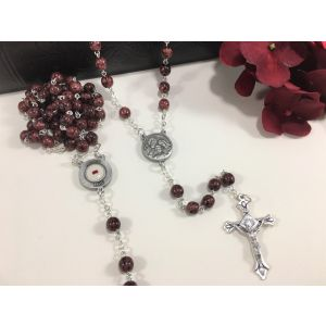 Holy Family Rosary with Relic
