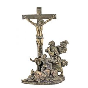 Bronze Crucifixion Masterpiece 11""