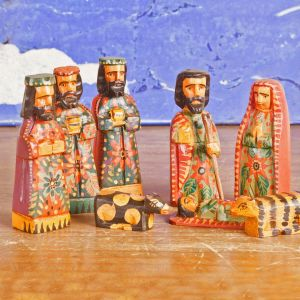 Handmade Nativity Set from Guatemala 8pc