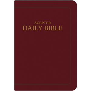 Scepter Daily Bible RSVCE - Burgundy