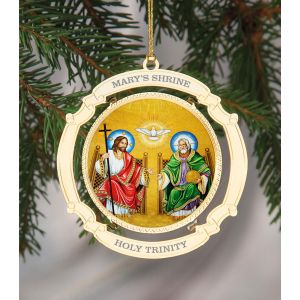 ACM220 The Trinity Mosaic Ornament