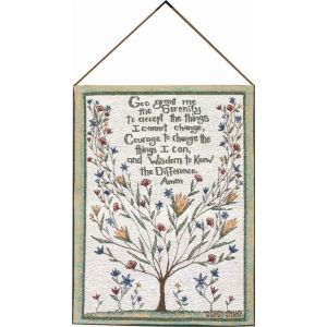 Serenity Prayer Tapestry 13x18