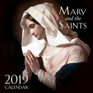 ACM152 2019 Mary and the Saints Wall Calendar