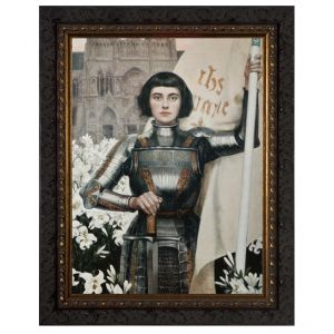 Saint Joan of Arc 8x10 Framed Art