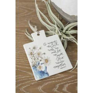 Magnify the Lord Trivet