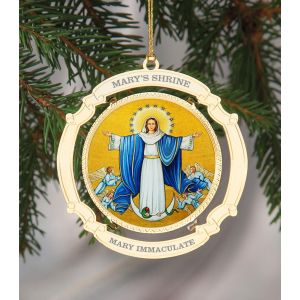 ACM220 Mary Immaculate Ornament