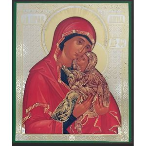 Saint Anne & Mary Icon 6x5