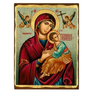 Virgin of Passion Serigraph Icon