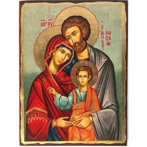 Holy Family Serigraph Icon