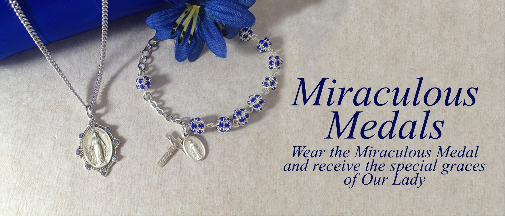 Home Page Slider - Miraculous Medals