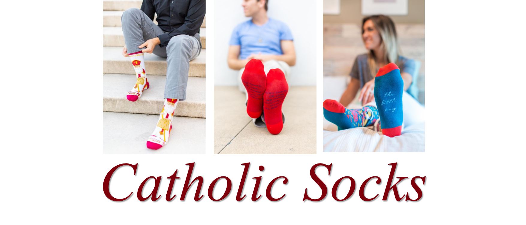8 Catholic Socks - Home Page Slider