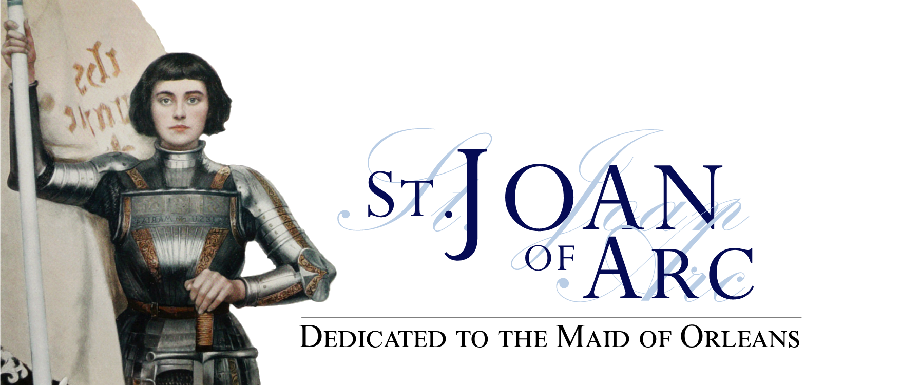 Home Page Slider - St Joan of Arc
